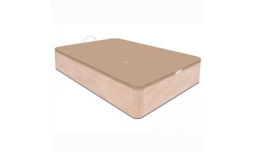 práctico canapé abatible de madera