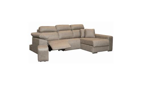 sofá chaiselongue relax con motor