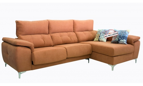 Sofa cheslong extraible Life