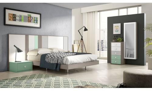 Dormitori de matrimoni modern a mida