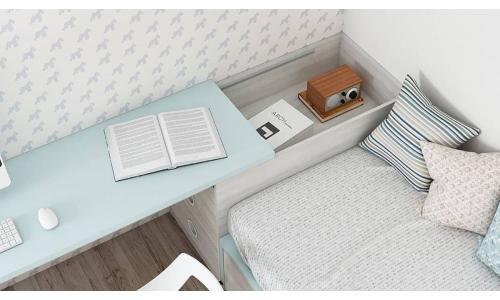 dormitorio juvenil moderno a medida