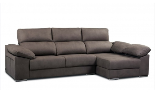 sofa 3 places chaise longue Lola