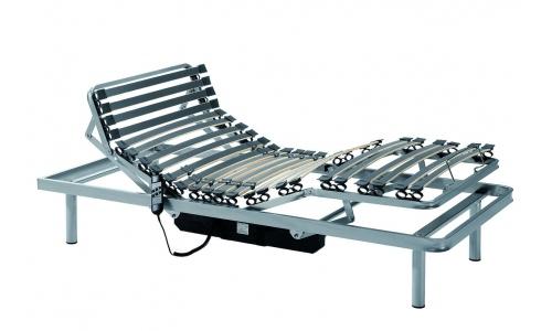 cama con 2 motores de 5 planos articulados.