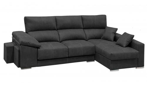 sofa barato extensible con pufs lleida