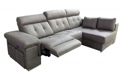 sofa chaise-longue amb motor i port USB