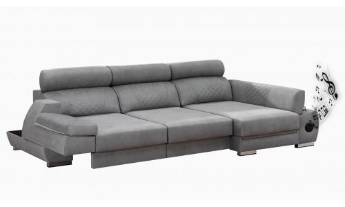 sofá multifuncional convertible en cama