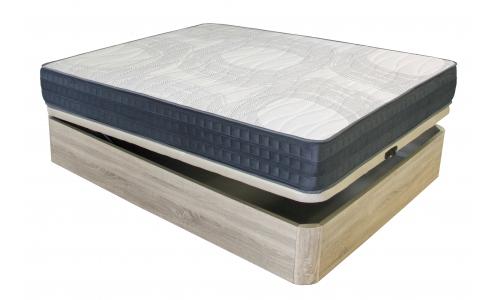 canapè de fusta més matalàs viscoelàstic