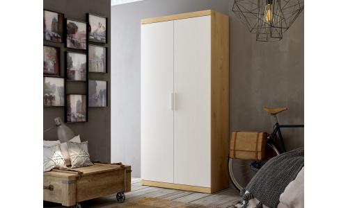 Armario de 2 puertas blanco
