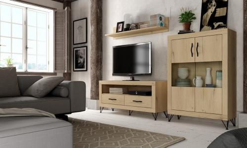 Mueble de comedor marrón