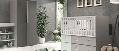 Dormitorio outlet comprar en tienda de muebles baratos for Armarios baratos montaje incluido