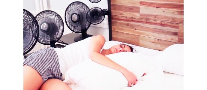 Consejos para dormir con el calor